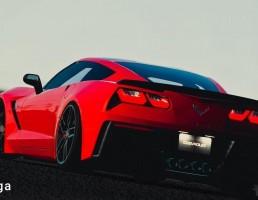 ماشین corvette c7 stingray