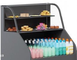 یخچال ویترینی شیرینی و نوشیدنی ها