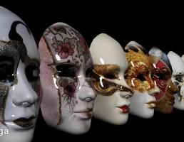 مجموعه ماسک زنانه ونیزی