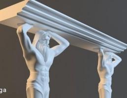 مجسمه تزیینی رومیزی