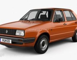 ماشین فلوکس واگن مدل Jetta سال 1984