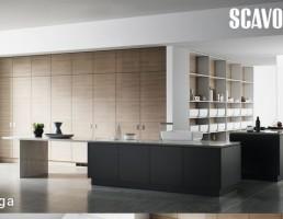 نمای داخلی آشپزخانه