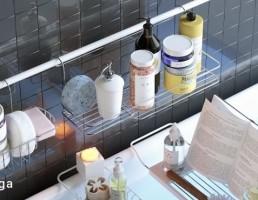 قفسه وسایل حمام