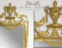 آینه کلاسیک