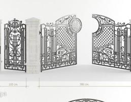 دروازه و ستون کلاسیک