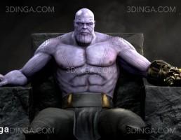 کاراکتر هیولای Thanos