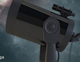 تلسکوپ + سه پایه