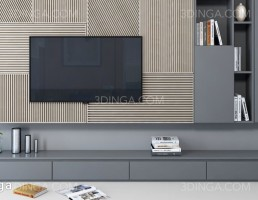 Tv wall set