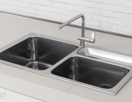 سینک ظرفشویی + میکسر