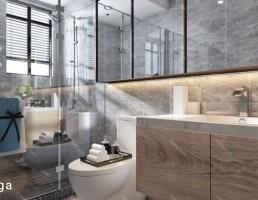 صحنه داخلی توالت و حمام