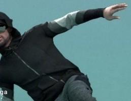 کاراکتر مرد در حال رقص