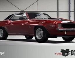 ماشین شورلت مدل Camaro Z28 سال 1969