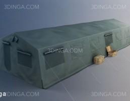 مدل سه بعدی چادر نظامی
