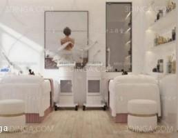 صحنه ی داخلی سالن زیبایی/ آبگرم