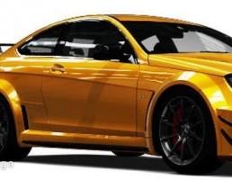 ماشین مرسدس بنز مدل C63 AMG Black Series سال 2012