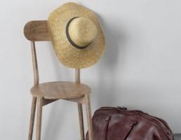صندلی + کلاه + کیف زنانه