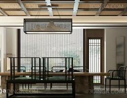 صحنه داخلی اتاق چای