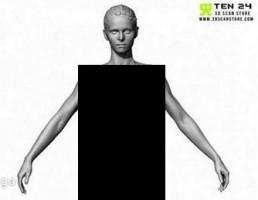 کاراکتر مدل تناسب اندام
