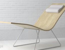 صندلی چوبی خوابشو