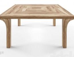 میز نهارخوری چوبی