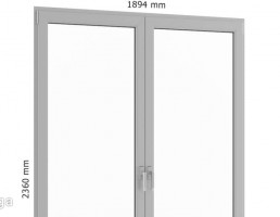 پنجره فلزی