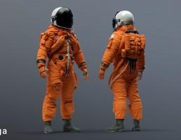 کاراکتر فضانورد ناسا