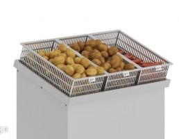 سبد سیب زمینی و هویج سوپر مارکت