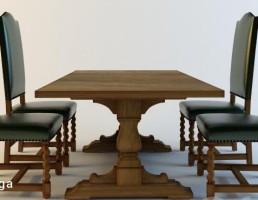 ست میز و صندلی کافه