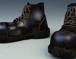 کفش پوتین زمستانی