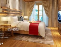 اتاق خواب سبک آسیای جنوب شرقی