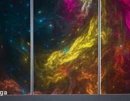 قاب عکس کهکشان