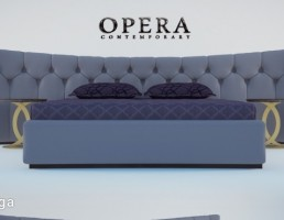 تخت خواب  opera