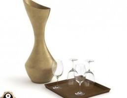 تنگ لعابی + شراب خوری