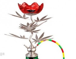 مدل قلیان به شکل گل
