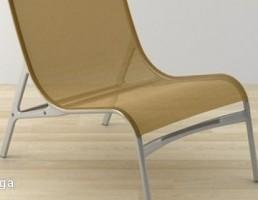 صندلی فلزی مدرن