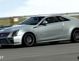 ماشین کادیلاک مدل CTS-V Coupe سال 2011