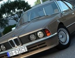 ماشین BMW 635 CSi 1986