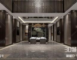 لابی هتل چینی
