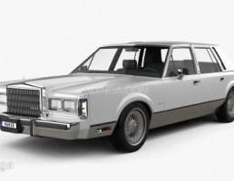 ماشین لینکلن مدل Town Car سال 1989