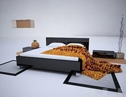 تختخواب مدرن Lilac