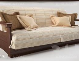 مبل تخت خوابشو کلاسیک