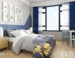 اتاق خواب کودک سبک مدرن