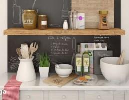 قفسه وسایل آشپزخانه