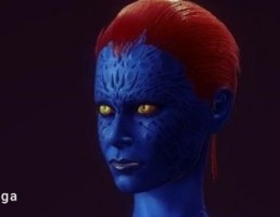 کاراکتر X-Men Mystique