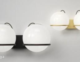 مدل سه بعدی چراغ دیواری