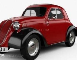 ماشین Fiat 500 Topolino 1936
