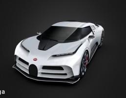 ماشین بوگاتی مدل Centodieci سال 2020