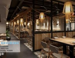رستوران سبک صنعتی