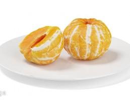 بشقاب + نارنگی