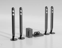 باند + دستگاه صوتی و تصویری